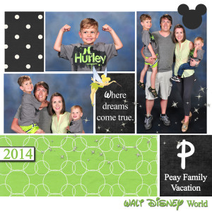 Family Pictures in Disney World