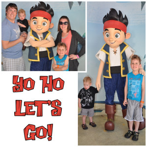 Meeting Jake from the Neverland Pirates