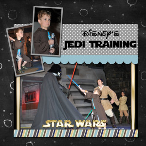 Disney's Star Wars Jedi Training