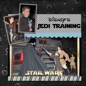 Disney's Star Wars Jedi Training