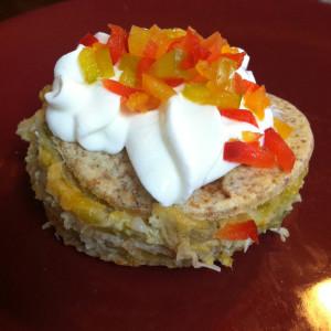 Chicken Enchilada Casserole Cupcake
