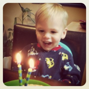 Happy 2nd Birthday Kalvyn!